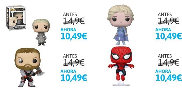 Colección de figuras FUNKO de Disney, Juego de Tronos y Marvel desde 10,4€