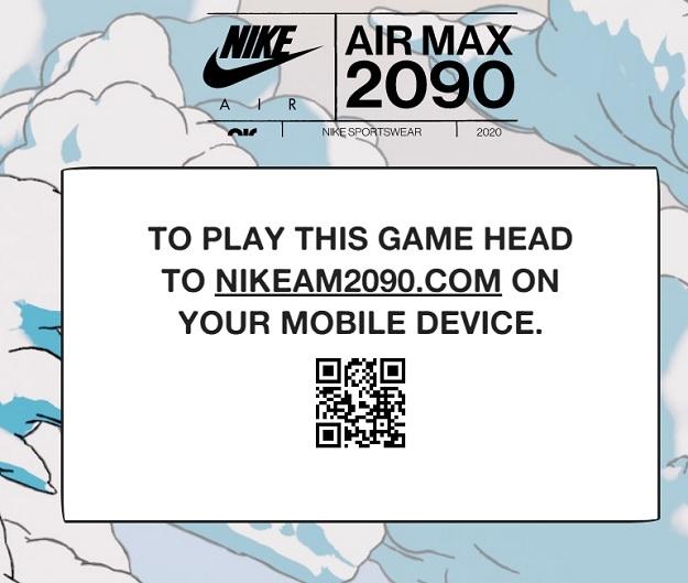 Juego para tener un descuento del 15% en todas las AirMax 2090 de Nike