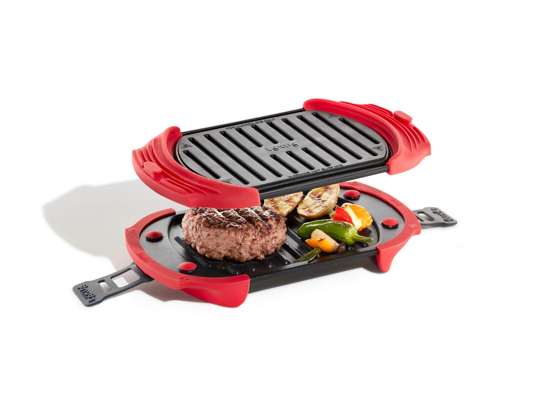 Microwave Grill: tu comida a la parrilla