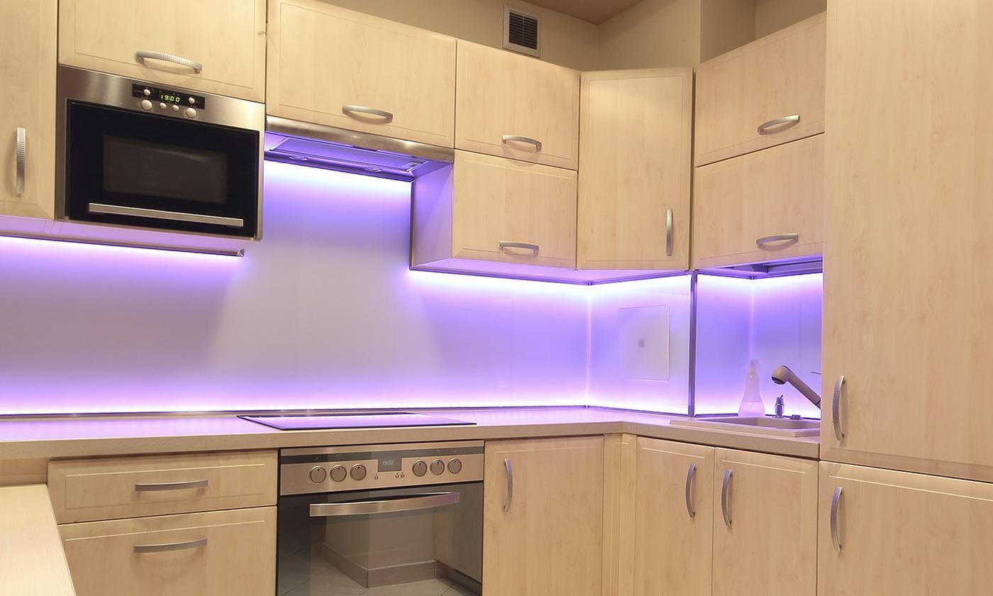 Tiras de luz LED de 1 o 2 metros