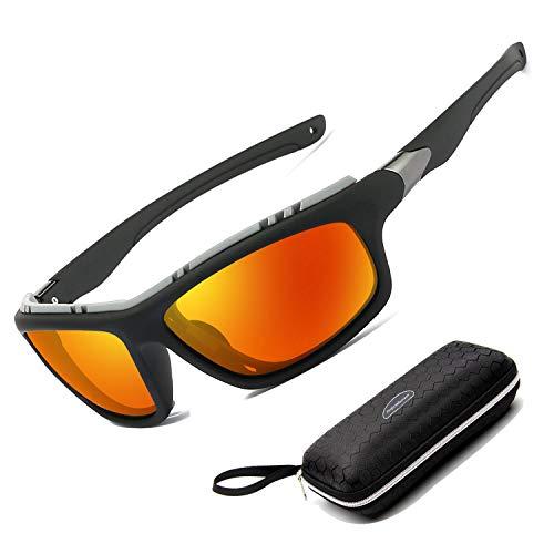 Perfectmiaoxuan Gafas de Sol polarizadas para Hombre Mujer