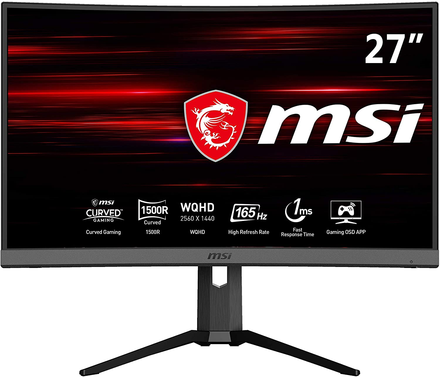 Monitor curvo MSI Optix MAG272CQR 27""