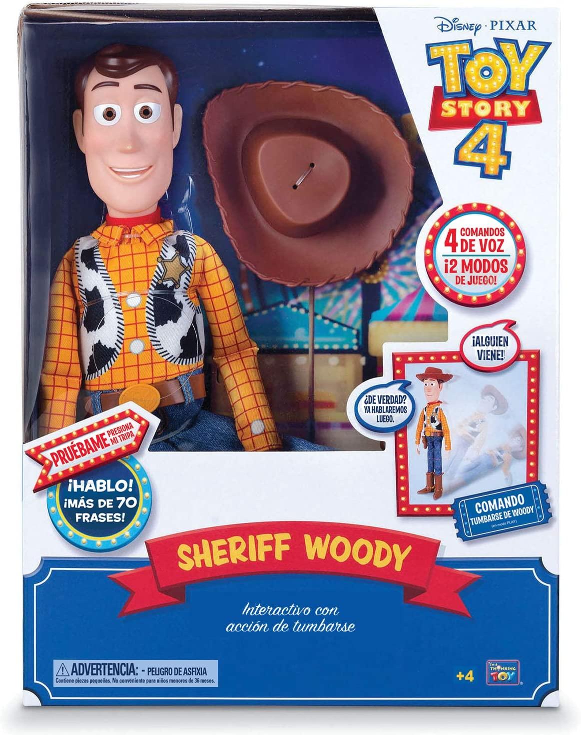 Figura Articulada Toy Story Woody 42cm
