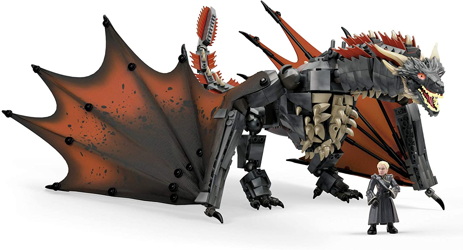 Mega Construx Game Of Thrones Daenerys y Drogon