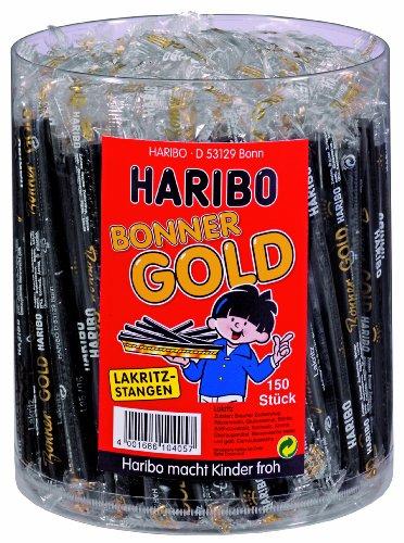 Haribo Bonner Oro 150barras de regaliz