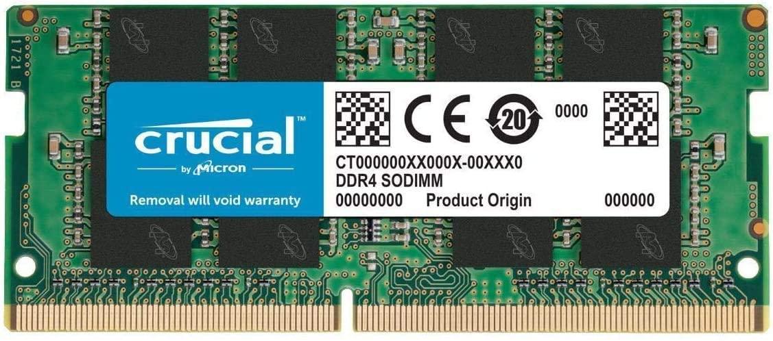 RAM SODIMM Crucial 8GB DDR4 2666Mhz