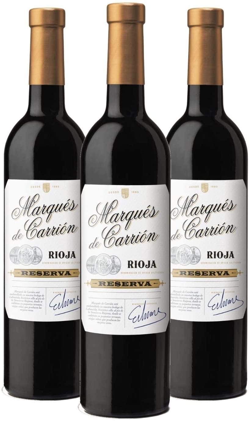 3 botellas de Marqués de Carrión Reserva