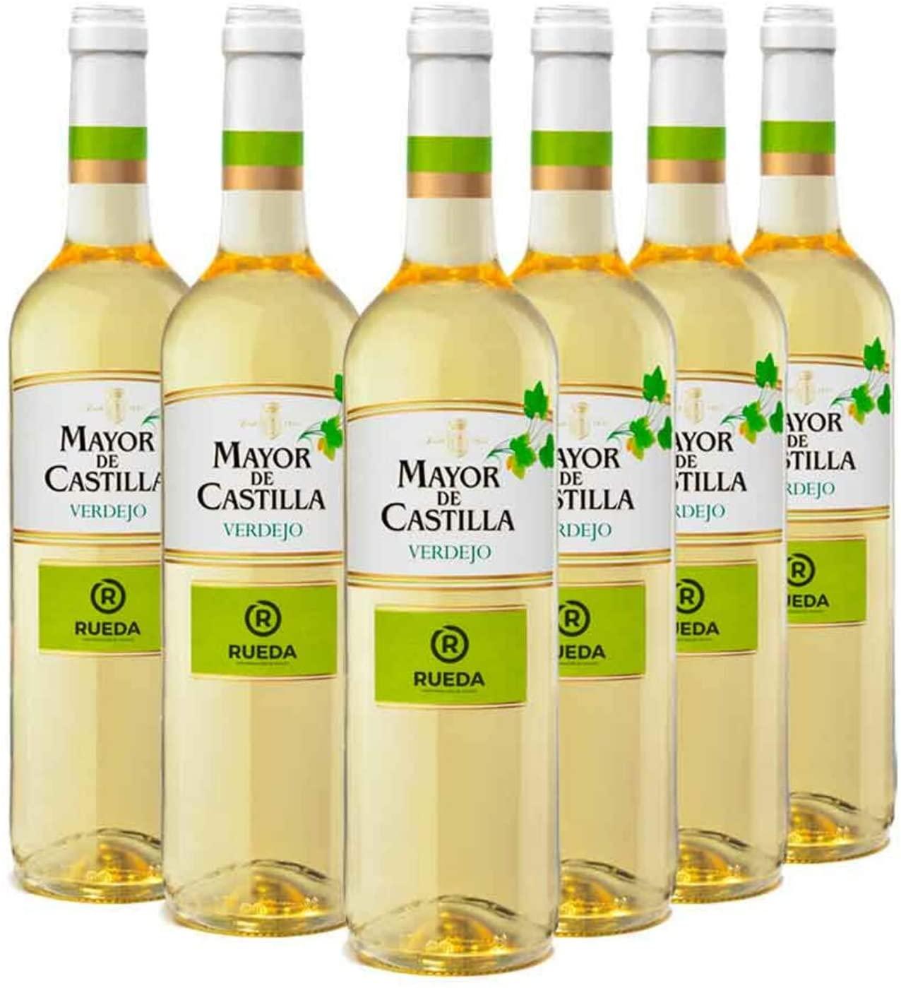 6x Vino Blanco D.O Rueda Mayor de Castilla Verdejo