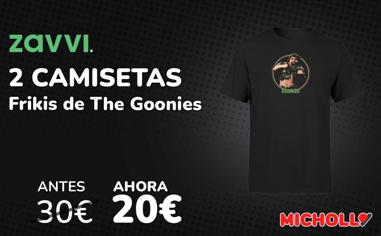 2x camisetas frikis The Goonies