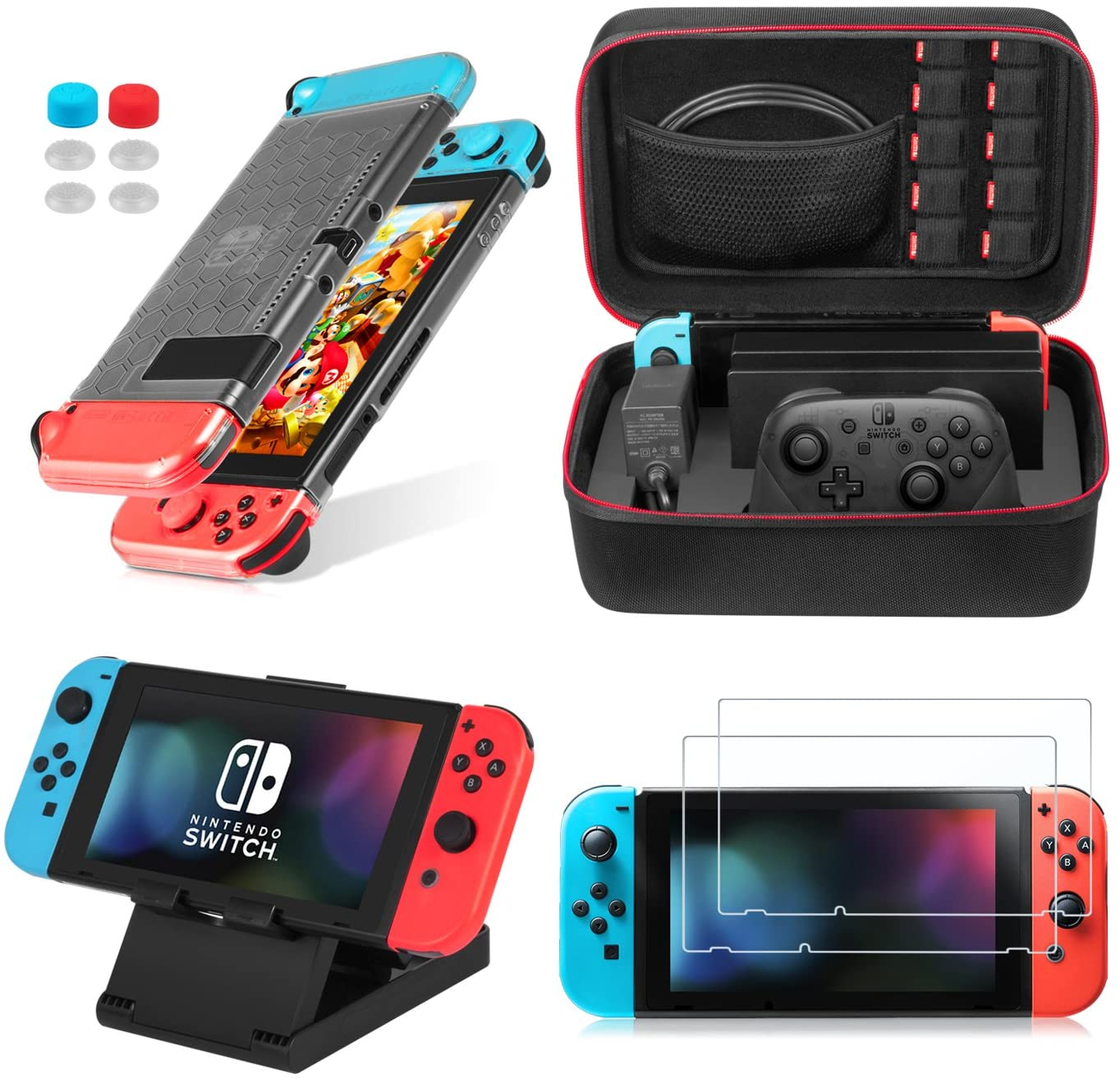 Kit de Accesorios 13 en 1 para Nintendo Switch
