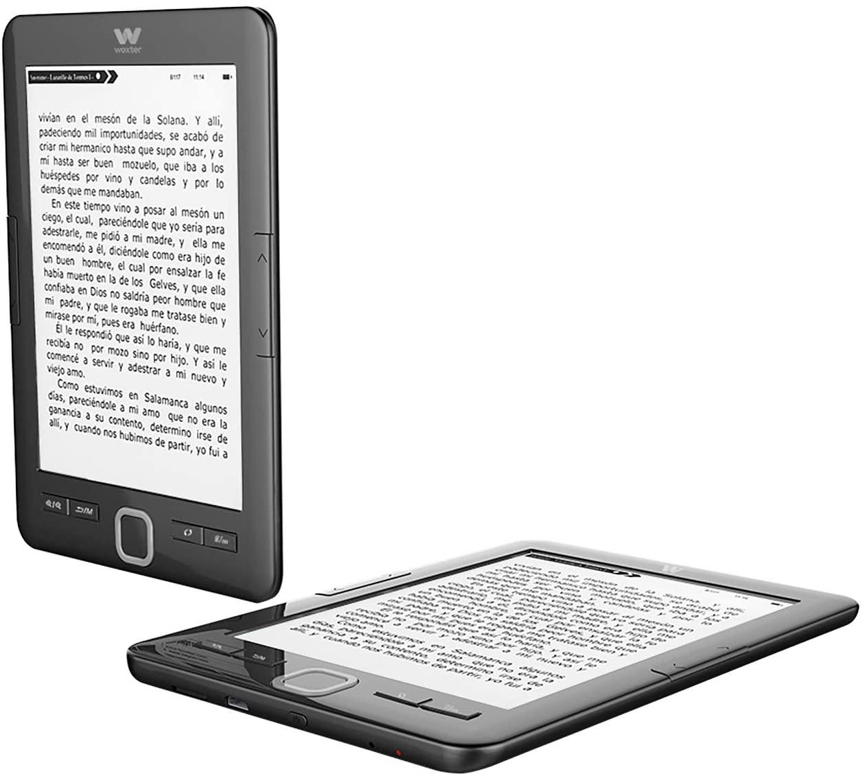 Lector Electrónico: Woxter E-Book Scriba 195 Black