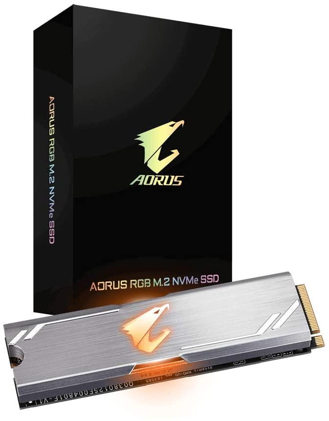 SSD NVMe Gigabyte AORUS 512GB