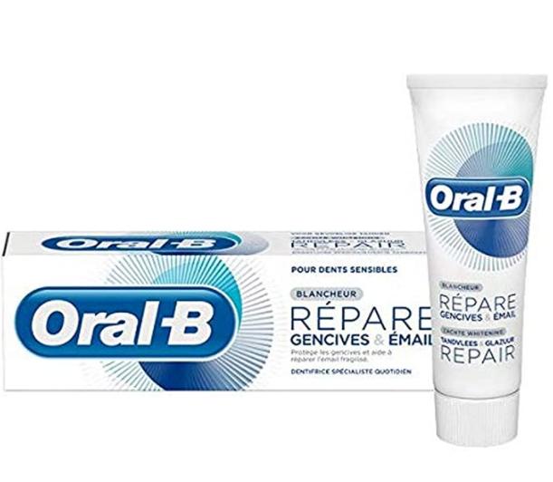 Crema Oral-B reparadora de Esmalte y encías