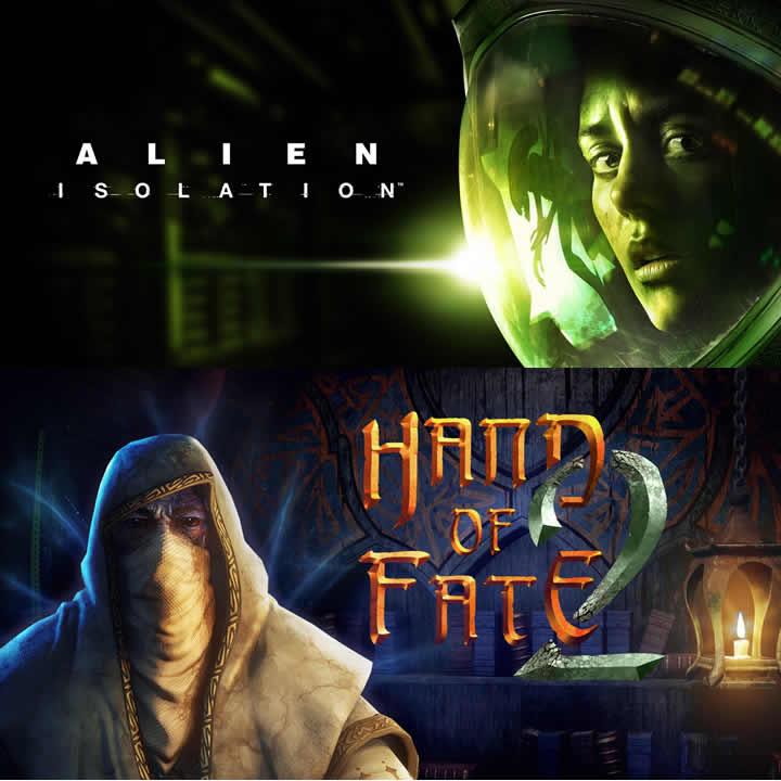 Alien Isolation y Hand of Fate 2 en Epic Games