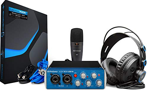 Combo PreSonus AudioBox 96 Studio
