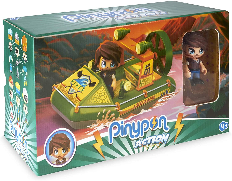 Pinypon Action Wild Lancha Rescate
