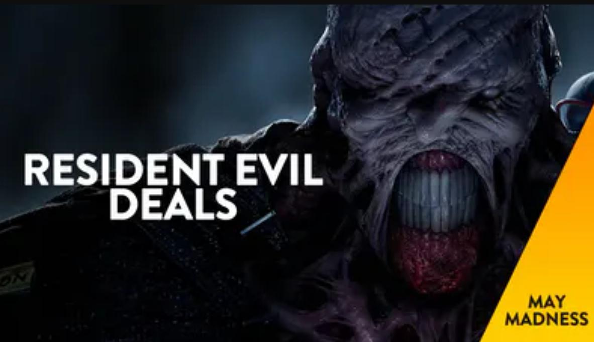Hasta 80% de descuento en juegos de Resident Evil