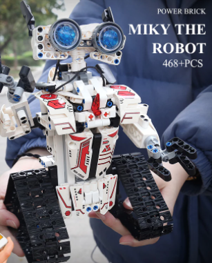 Robot  juguete de construcción teledirigido Mould King