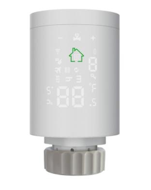Termostato para radiador programable Zigbee