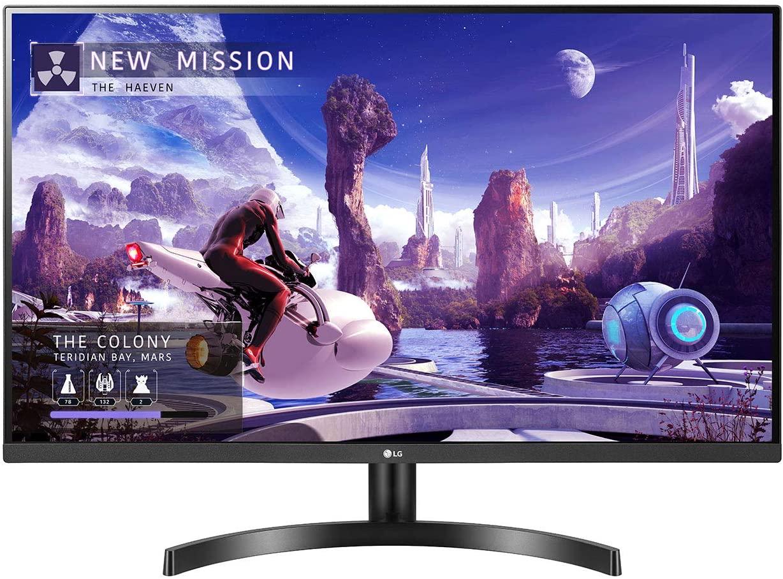 "Monitor 31.5"" LG QHD Freesync"