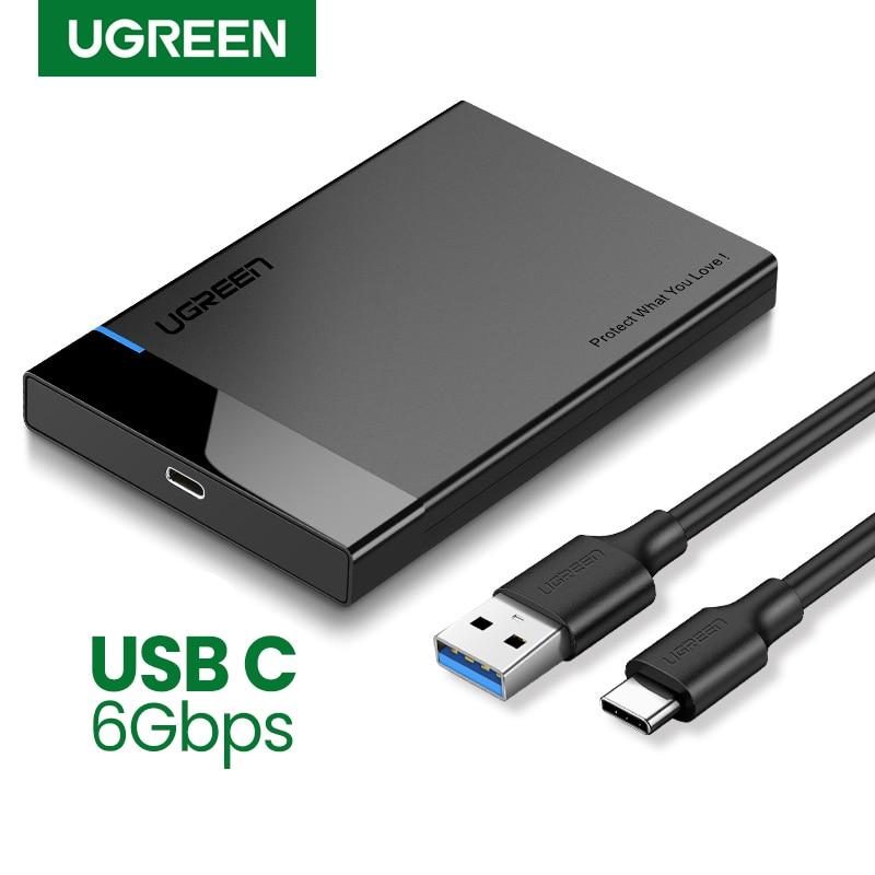 """Carcasa Ugreen para Discos de 3"""" y 2,5"""" USB3.0"""