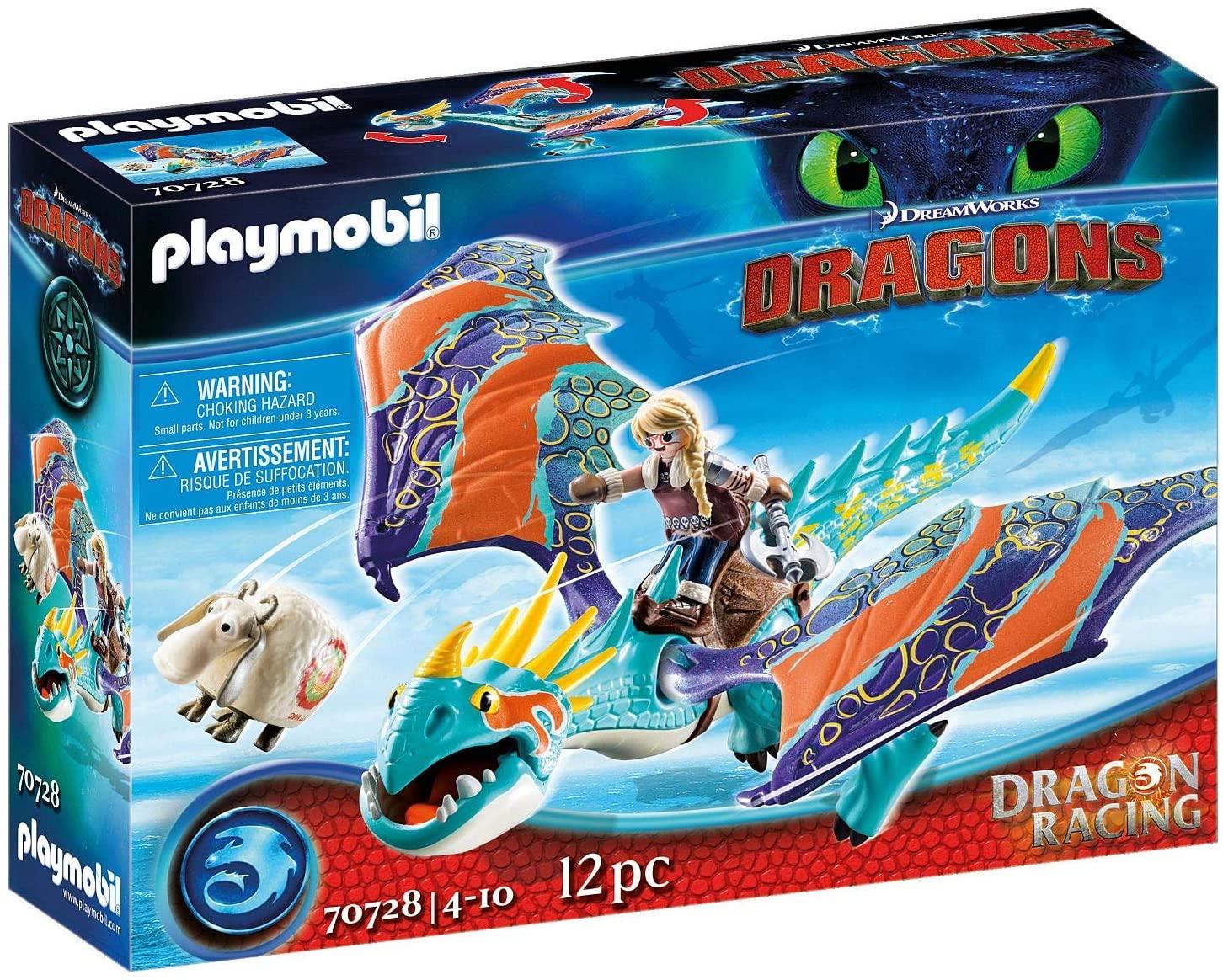 Playmobil Como Entrenar a tu Dragon, Astrid y Tormenta
