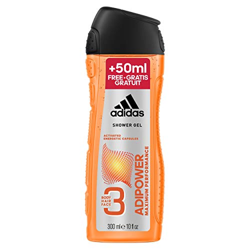 Pack de 6 Gel de ducha Adidas Adipower