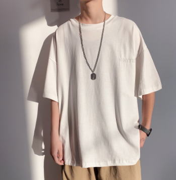 Camiseta oversize de manga corta