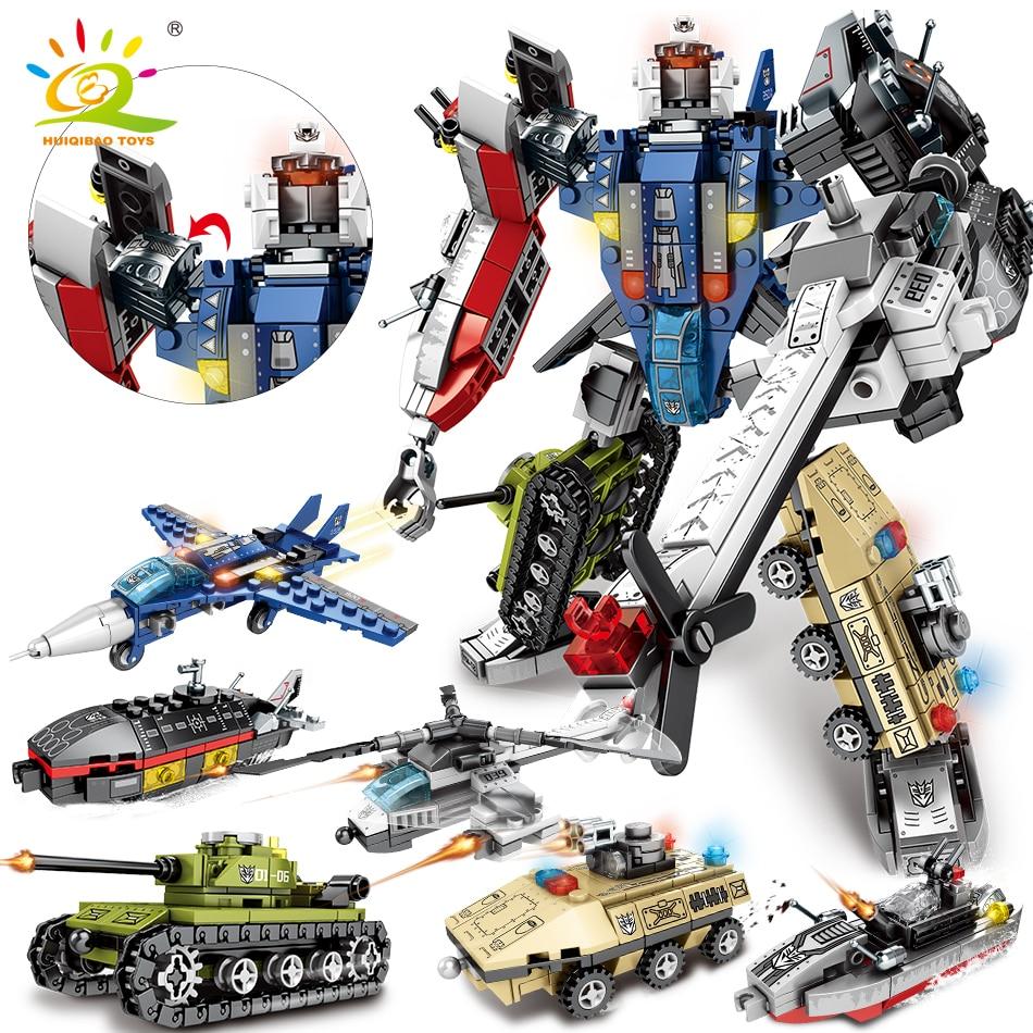 Transformer 733 piezas 6 en 1