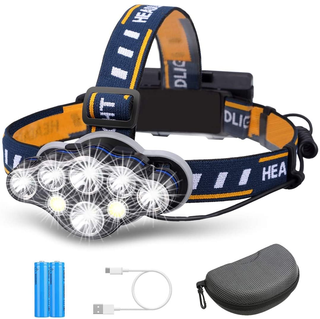 Linterna frontal superbrillante de LEDS Outerdo