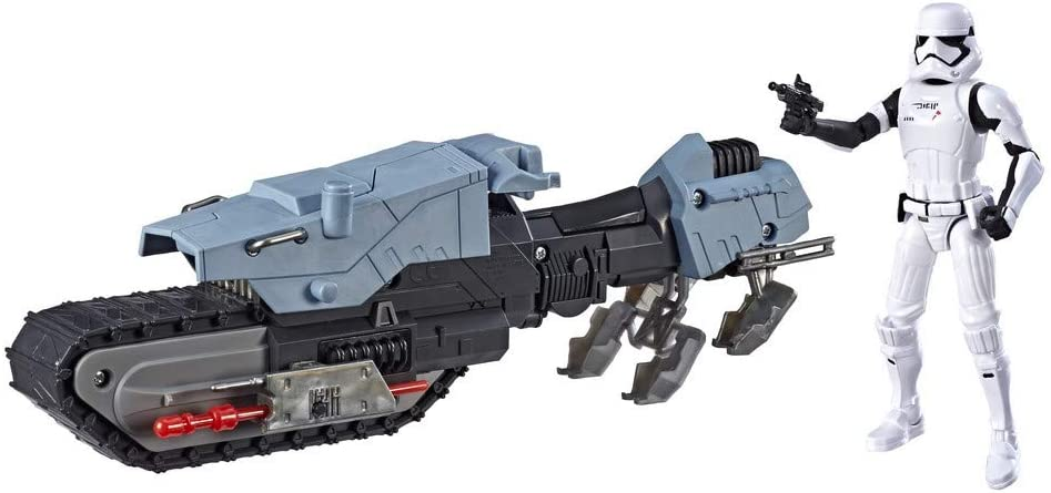 Star Wars Figura con vehículo Treadspeeders Primera Orden