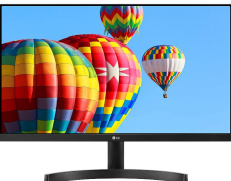 "Monitor LG 24MK600M-B FullHD 24"""