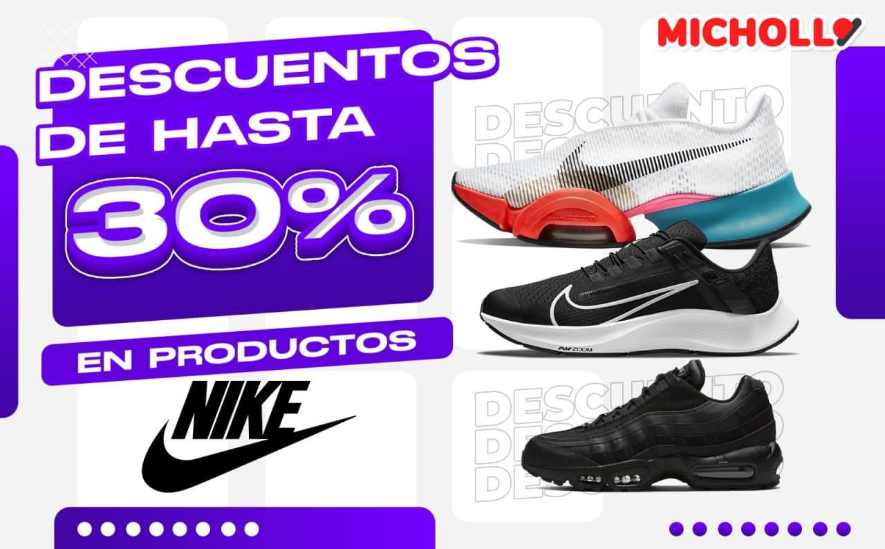 Descuento extra del 30% para Nike members en TODO Nike