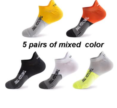 Cinco pares de calcetines deportivos