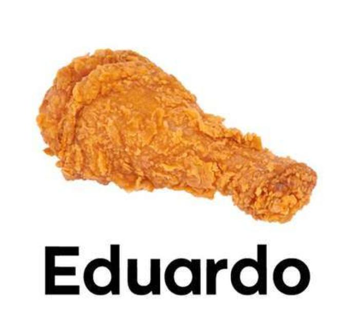 Pieza de pollo Eduardo en KFC