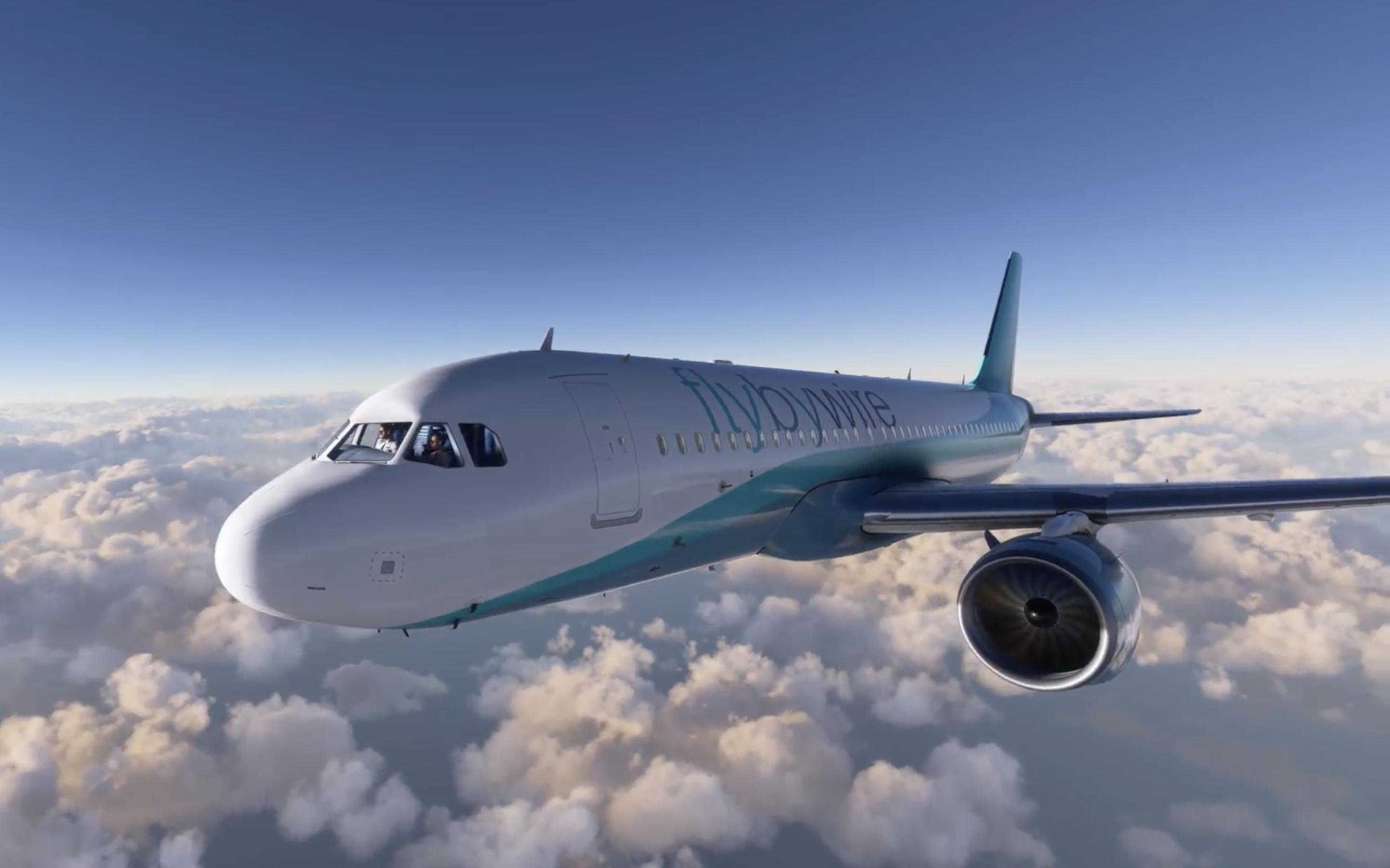 Avión A32NX para Microsoft Flight Simulator