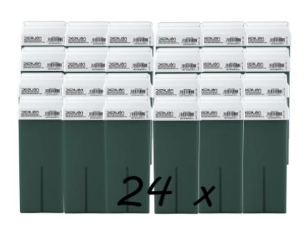 24 cartuchos de cera depilatoria Roll On