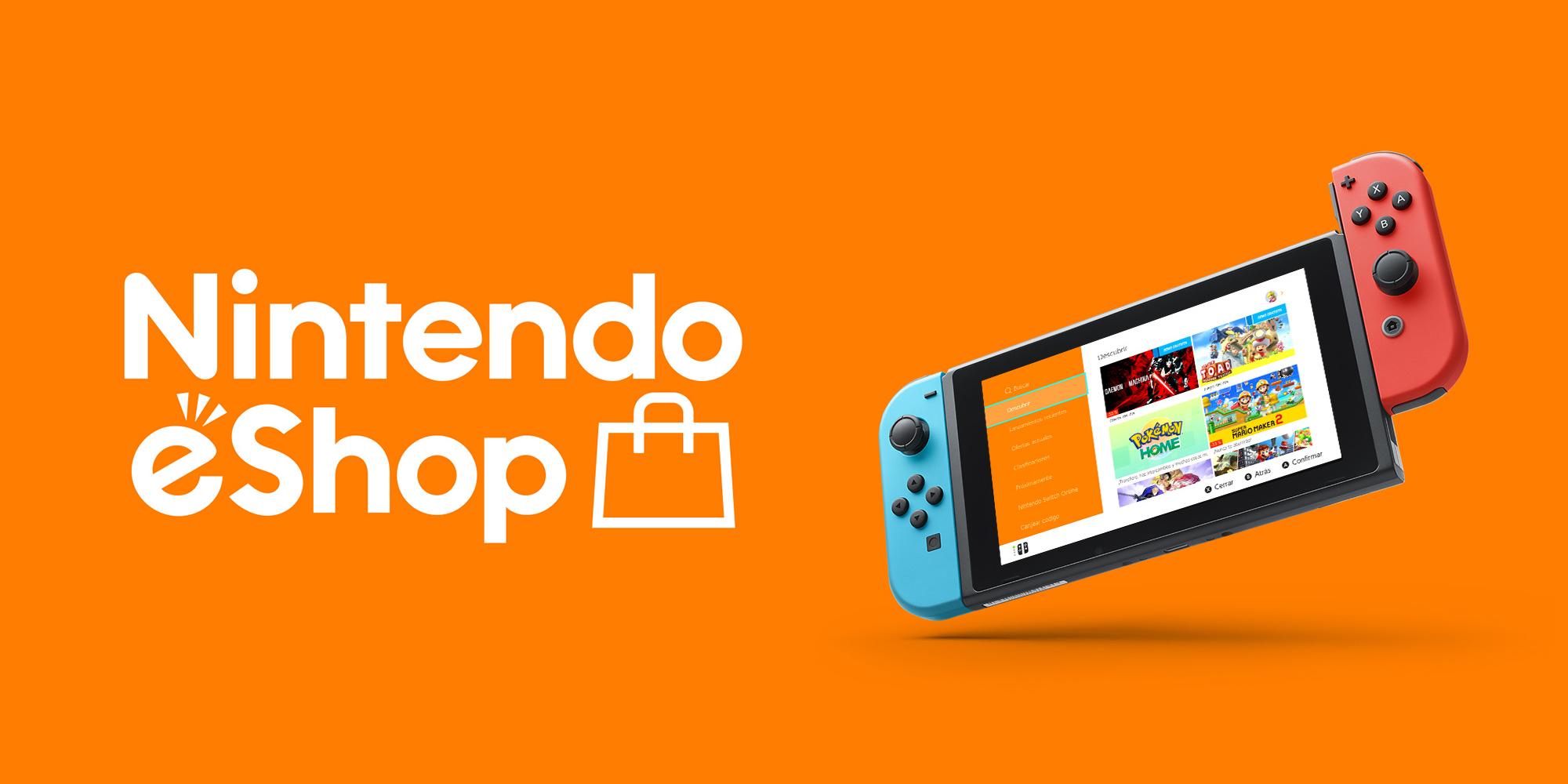Descuentos  de hasta el 80% en videojuegos para Nintendo Switch
