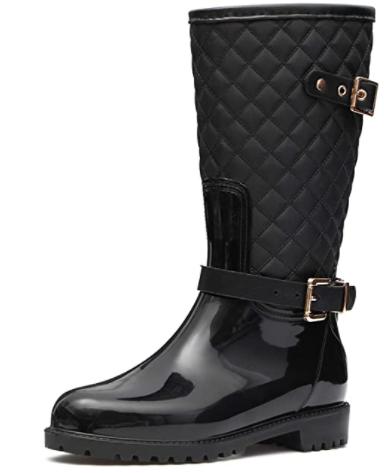 Botas altas de lluvia mujer
