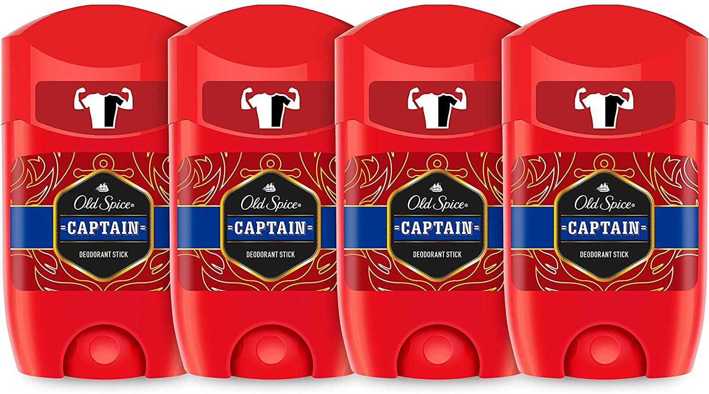 Desodorante en Barra Old Spice 4x50 ml