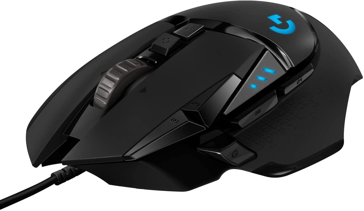 Ratón Gaming Logitech G502 HERO