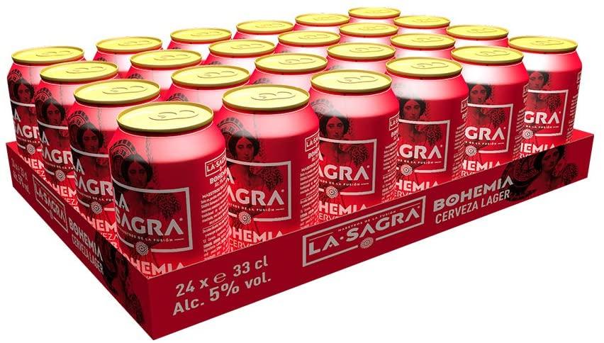 La Sagra Bohemia Cerveza pack de 24