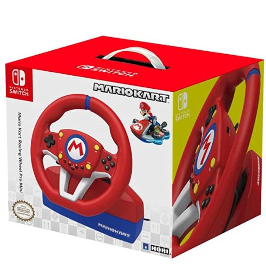 Volante Hori Mario Kart + Pedales