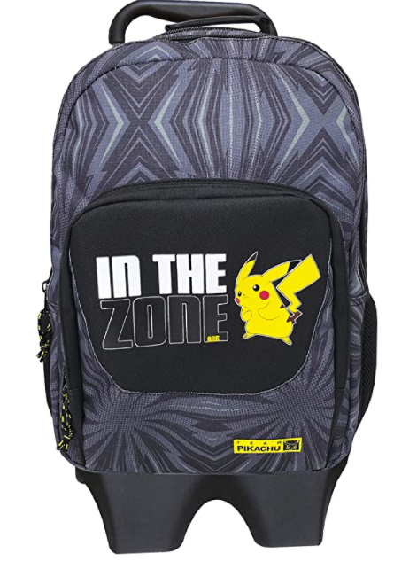 Mochila con trolley extraíble CYP Pikachu