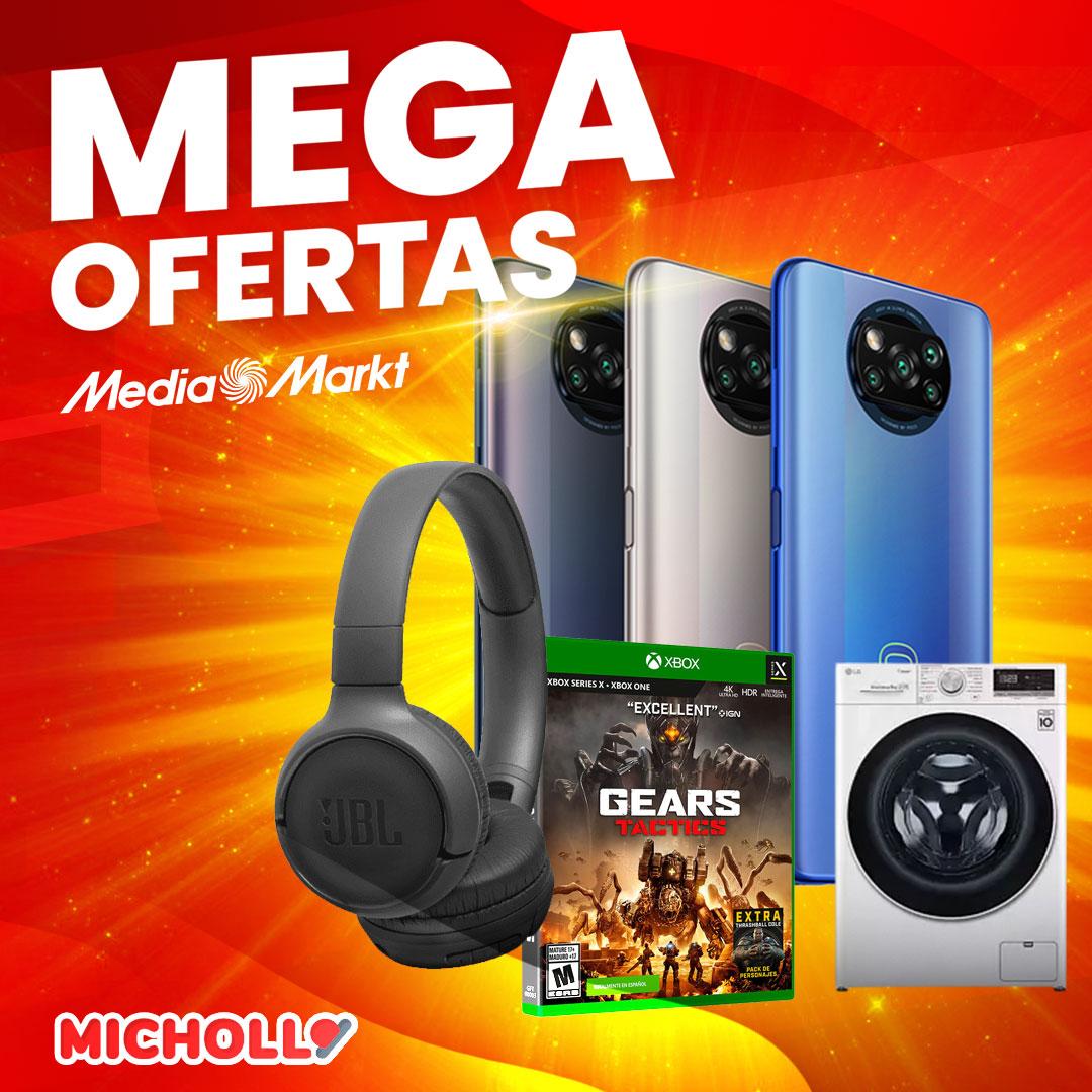 Llegan las MegaOfertas de MediaMarkt
