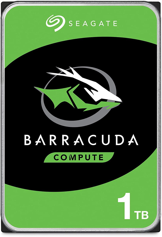 Disco duro interno Seagate BarraCuda 1 TB