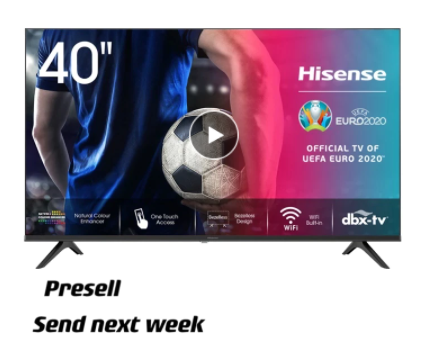 "TV Hisense 40"" 40A5600F"