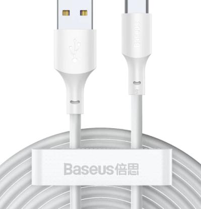 2 cables Baseus USB C 1,5M