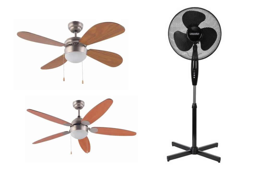 Descuentos en ventiladores en ManoMano