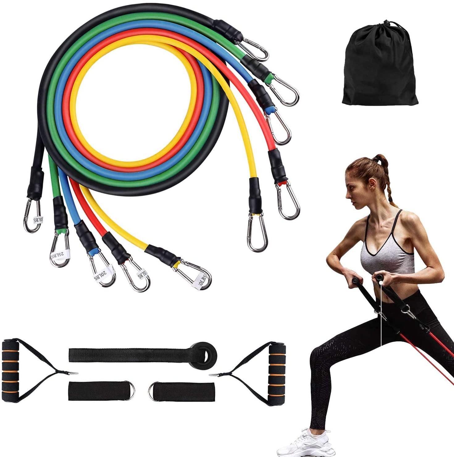 Pack de 11 Piezas de Fitness